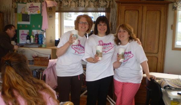 Giggles And Girlfriends Retreats T-Shirt Photo