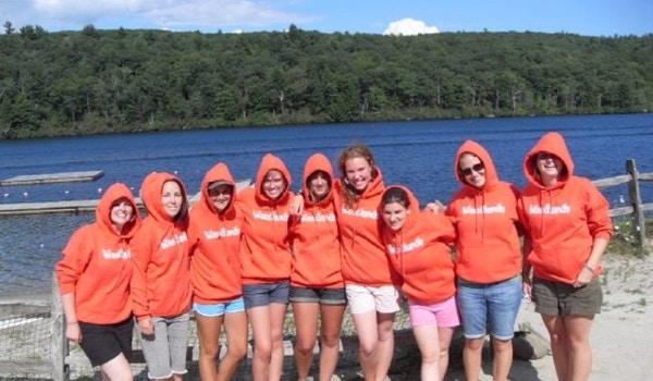 The Woodlands Unit At Camp Hi Rock 2008! T-Shirt Photo