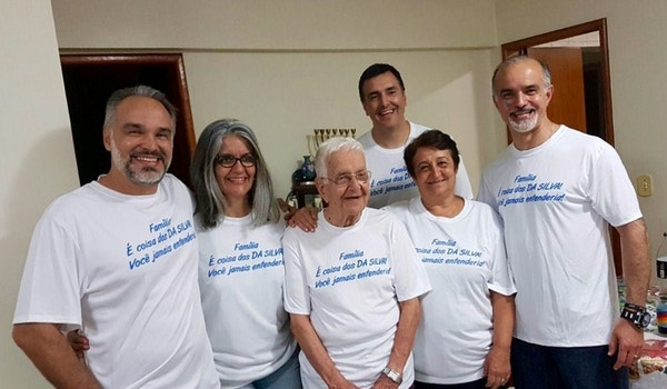 Together As A Family T-Shirt Photo
