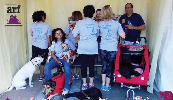 Spca's Tail Thumping Therapists T-Shirt Photo