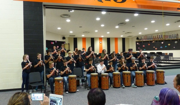 World Drums Performance T-Shirt Photo