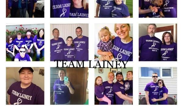 Team Lainey Spreading Awareness Across The States T-Shirt Photo
