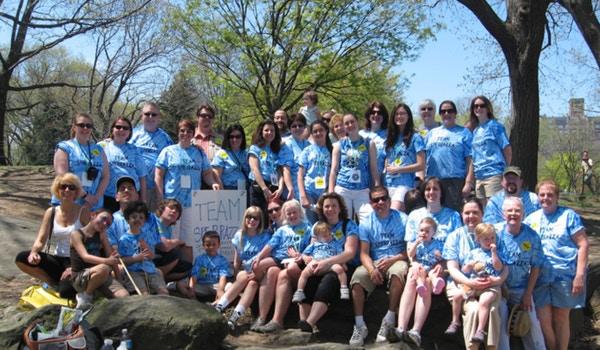 Parkinson's Unity Walk   April 25, 2009 T-Shirt Photo
