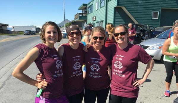 Kodiak Veterans Outreach Runners T-Shirt Photo