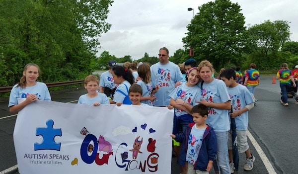Our Gang Autism Walk T-Shirt Photo