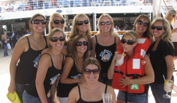 Jenny's Bachelorette Cruise Crew T-Shirt Photo