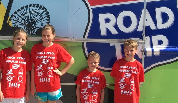 Uncle Eric's Summer Camp   Cedar Point Road Trip T-Shirt Photo