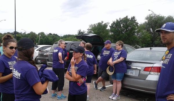 Tailgate Before The Wichita Heart Walk T-Shirt Photo