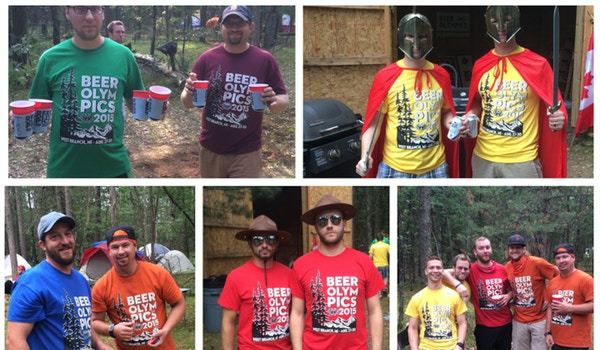 Ultimate Beer Olympics! T-Shirt Photo
