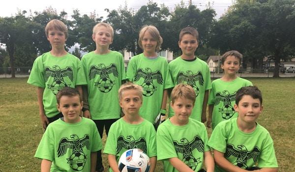 Uplands Soccer Club T-Shirt Photo
