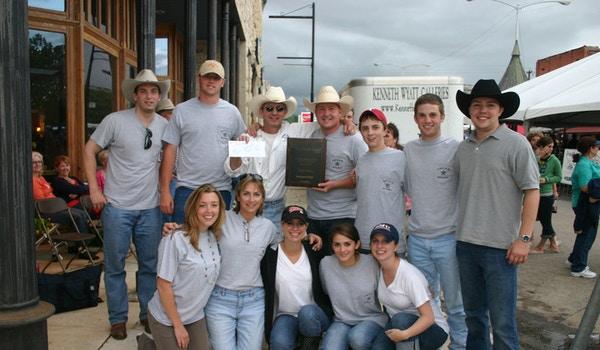 2009 Texas Steak Cook Off Champions T-Shirt Photo