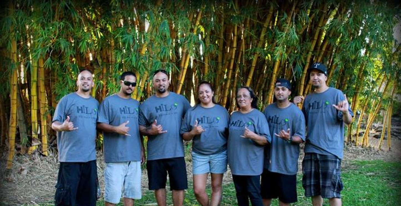 Family Reunion In Hilo, Hawaii T-Shirt Photo