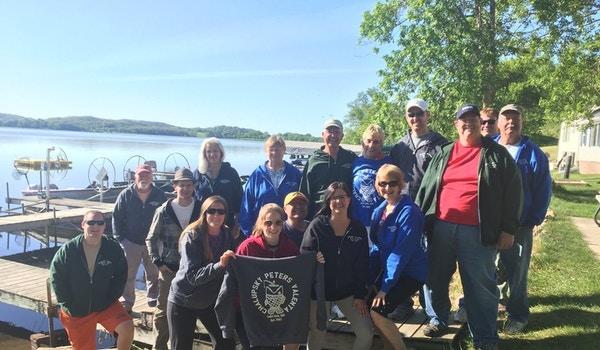 Family Fishing Trip To Lake Lida, Mn T-Shirt Photo