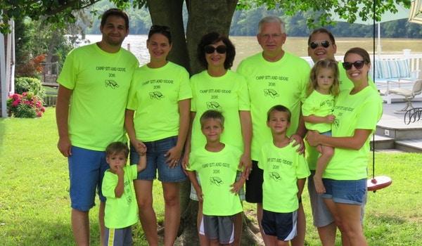 Summertime Fun At Grandma And Grandpa's T-Shirt Photo