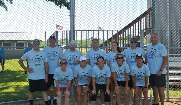 Ccrm Softball Tournament: Team Beavers  T-Shirt Photo