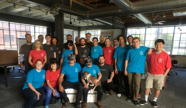 Virtual Reality Company Gets Immersed In Custom Ink! T-Shirt Photo