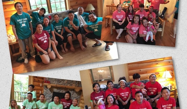 Family Cabin Trip 2016! T-Shirt Photo