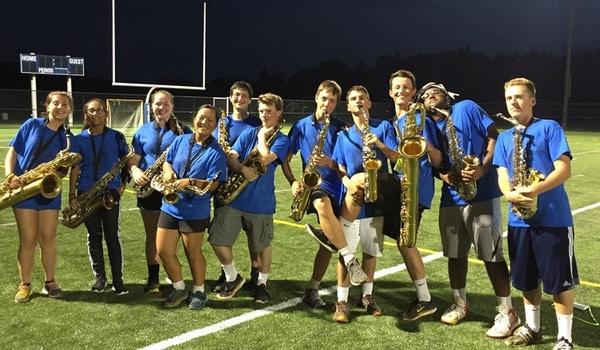 2016 Marching Knights Saxophones T-Shirt Photo