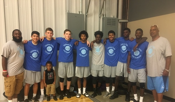 Ok Saints Basketball Team T-Shirt Photo