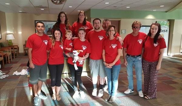 Team Liam T-Shirt Photo