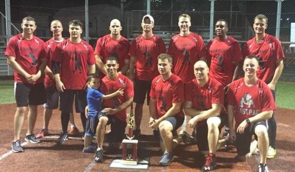Fastpac Summer League Softball Champs T-Shirt Photo