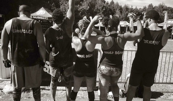 Team Purple Reign #Dafinishers #Spartansprint2016 T-Shirt Photo
