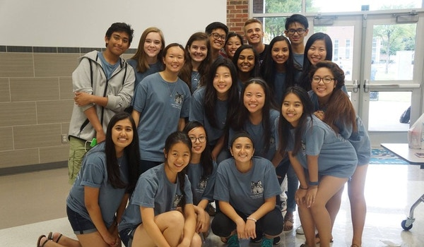 Plano West Orchestra Officers Look And Plan For Success! T-Shirt Photo