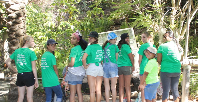 Girl Scout Troop 62090 San Diego Trip T-Shirt Photo