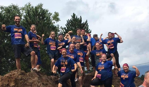 Team Darleen Gets Mucky For Ms T-Shirt Photo