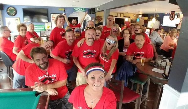 2016 That Place On 8th Mustache Crawl T-Shirt Photo