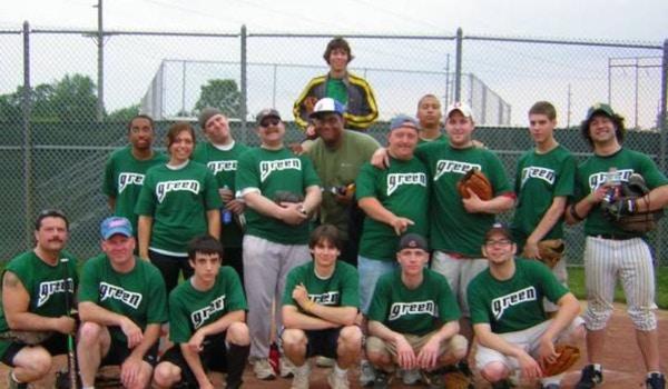 Green Machine Softball T-Shirt Photo