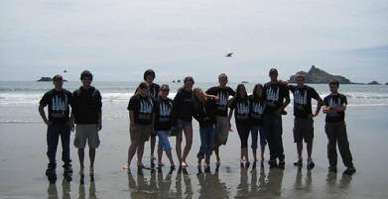 St. Anthonys Youth Group Redwood Retreat T-Shirt Photo