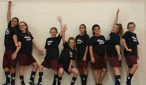 Swag Katz Basketball Team T-Shirt Photo