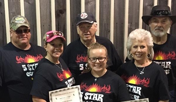 5 Star Cookers   Bar Bq Cook Off Team T-Shirt Photo