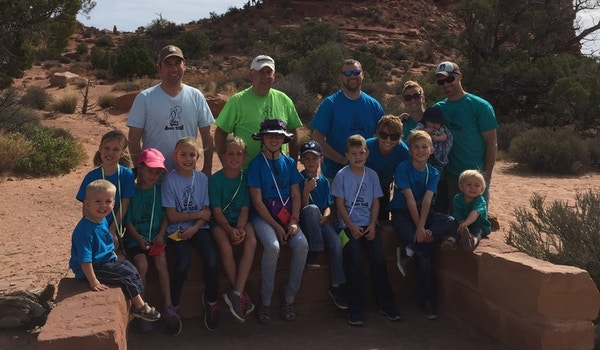 Foxes In Moab  T-Shirt Photo