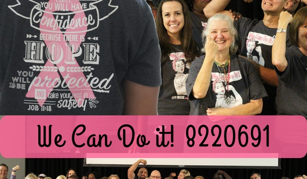 We Can Do It! Support Our Co Worker! T-Shirt Photo