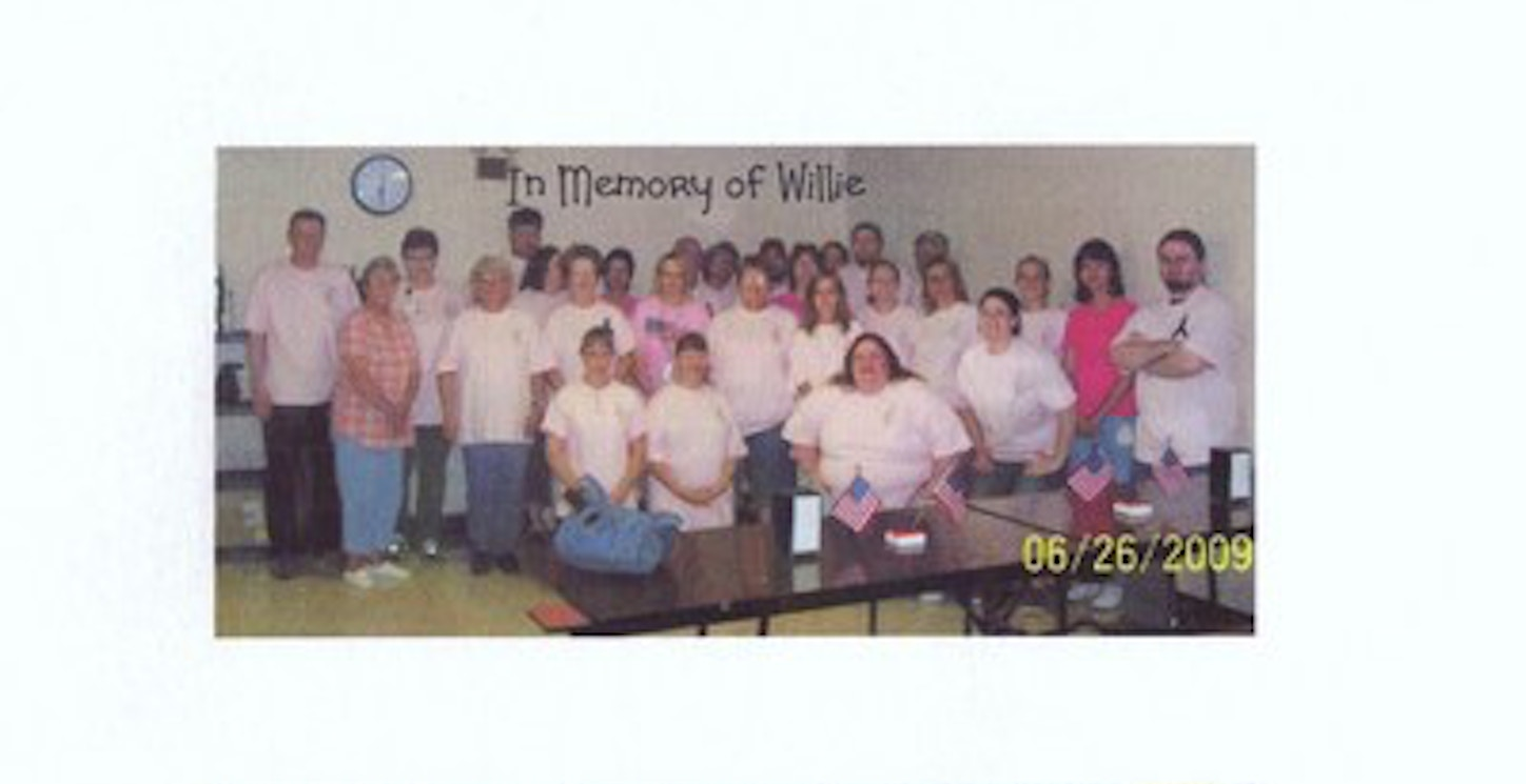 Pink Team For Willie T-Shirt Photo