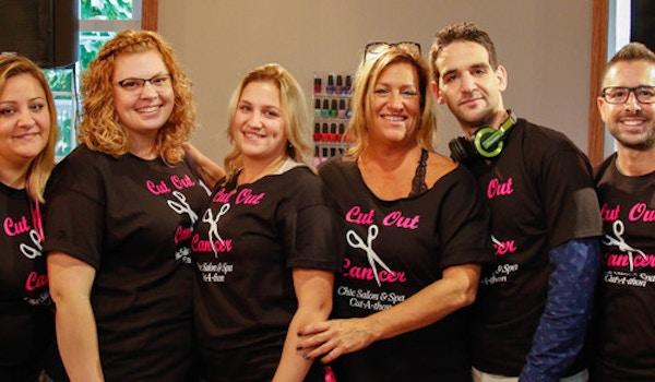 Chìc Salon & Spa Breast Cancer Fundraiser T-Shirt Photo