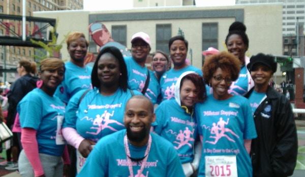 Susan G. Komen Breast Cancer Walk Team Shirts 2015  T-Shirt Photo