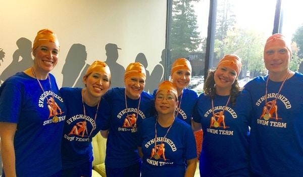 Chegg' Synchronized Swim Team (Halloween) T-Shirt Photo