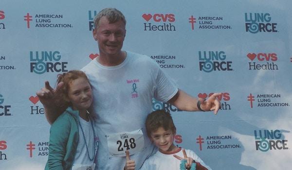 Ga Lung Force 5 K Race  T-Shirt Photo