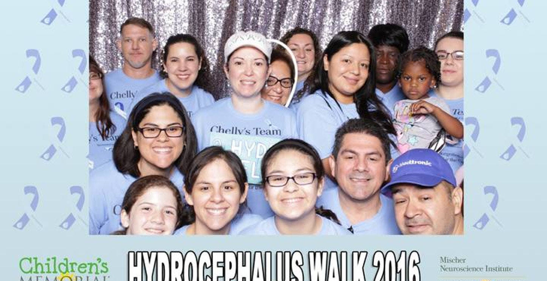 Houston 2016 Hydrocephalus Walk T-Shirt Photo