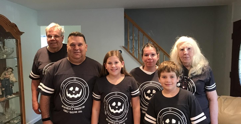 Our Halloween Disney Cruise T-Shirt Photo
