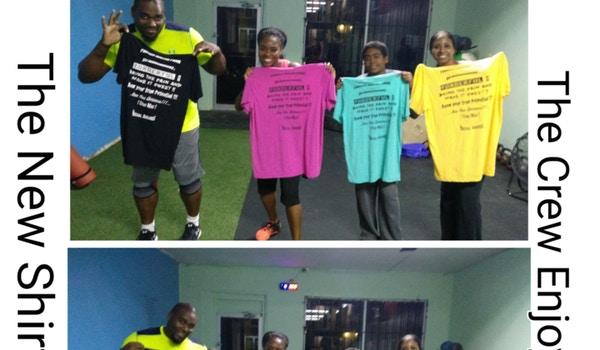Da Dungeon Fitness Rocking Custom Ink !!!! T-Shirt Photo