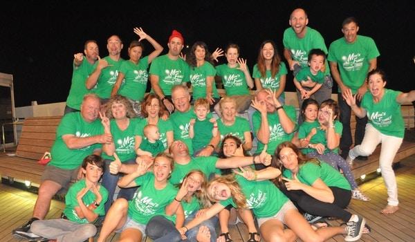 Family Fun On Board! T-Shirt Photo