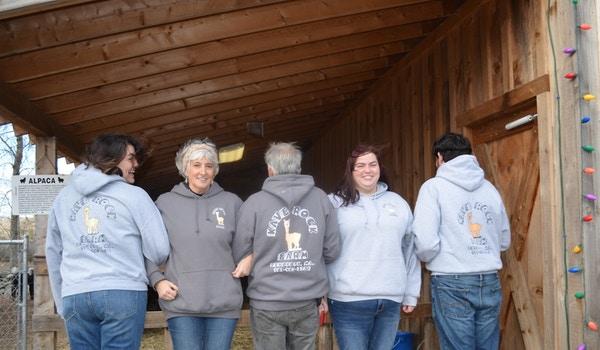 Kave Rock Alpaca Farm T-Shirt Photo