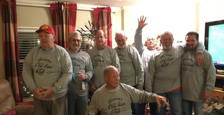 Grumpy Old Men! T-Shirt Photo