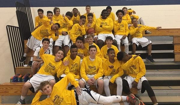 Nimitz Middle School 7th Grade Basketball T-Shirt Photo