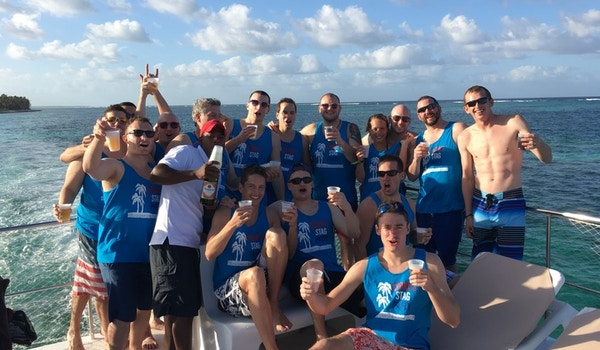 Cobra's Stag Party In Punta Cana T-Shirt Photo