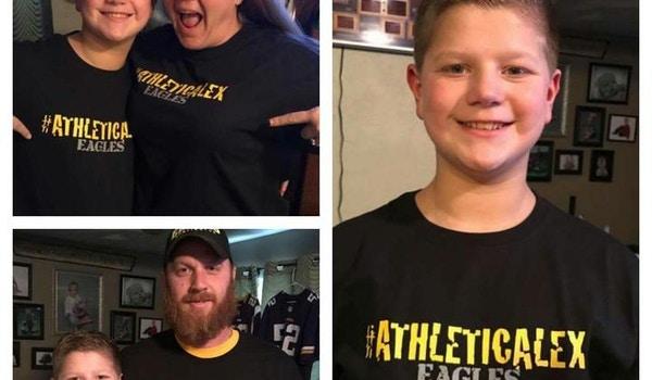 #Athletic Alex T-Shirt Photo